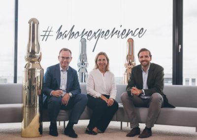 Fabian Kienbaum mit Isabel Bonacker & Dr. Martin Grablowitz