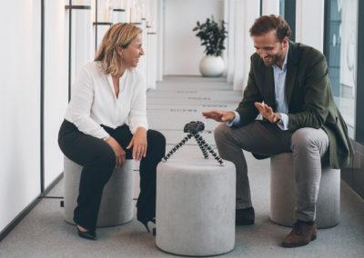 Fabian Kienbaum mit Isabel Bonacker