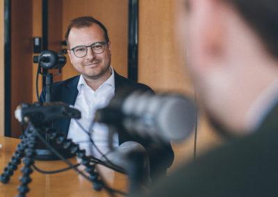 Fabian mit Christopher Mennekes im Interview