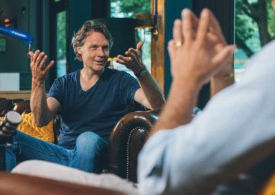 Fabian Kienbaum mit Sebastian Borek im Interview